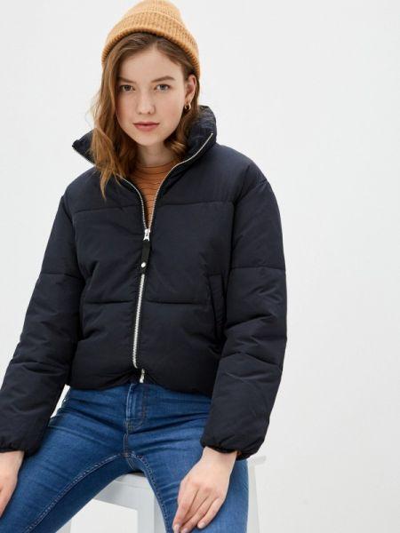 Утепленная куртка демисезонная черная Pimkie
