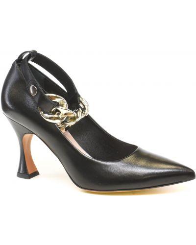 Туфли на каблуке - черные Bravo Moda