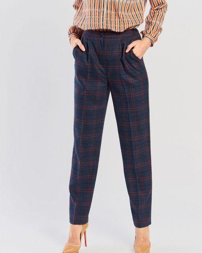 Классические брюки синие Akimbo