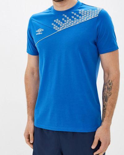 Футболка синий Umbro