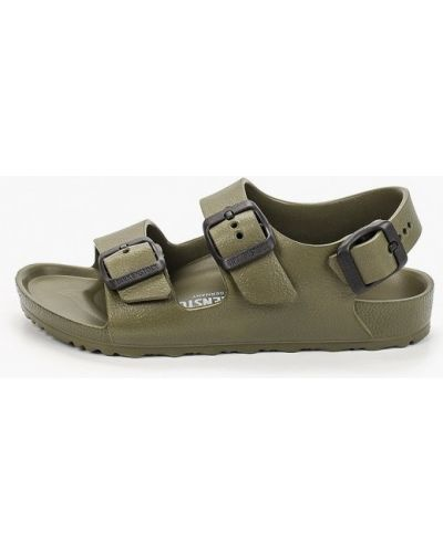 Зеленые сандалии Birkenstock