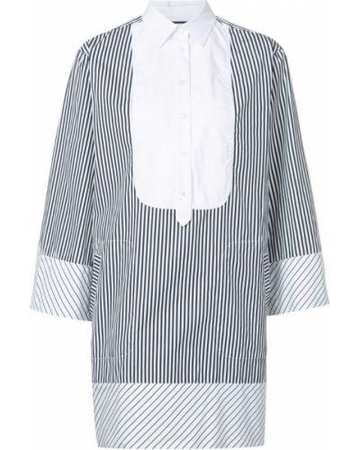 Платье макси рубашка в полоску солнце Barbara Bui