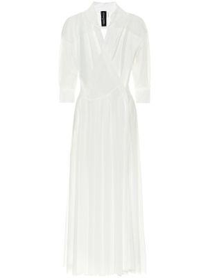 Платье миди плиссированное платье-майка Norma Kamali