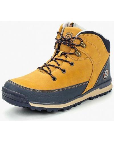 Треккинговые ботинки осенние кожаные Beppi