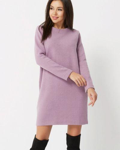 Платье осеннее фиолетовый Verna Sebe