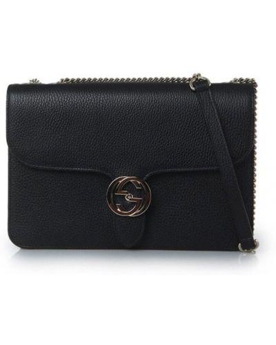 Czarna torba na ramię Gucci