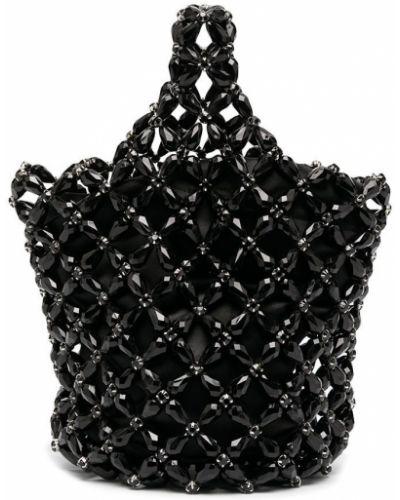 Czarna torebka mini Simone Rocha