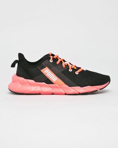 Кожаные кроссовки текстильные розовый Puma