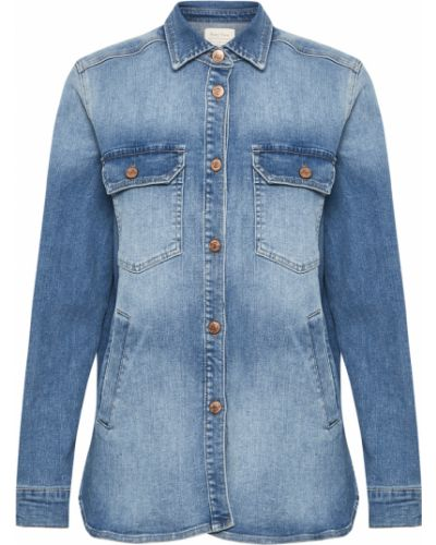 Koszula jeansowa - niebieska Part Two