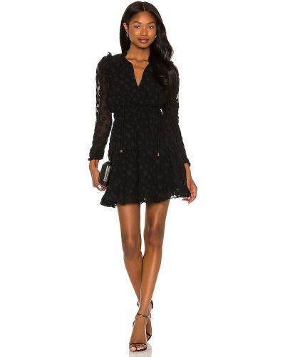 Шифоновое платье мини - черное Karina Grimaldi