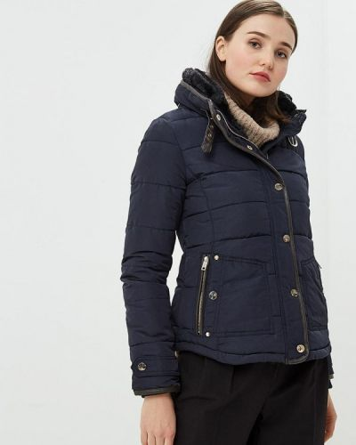 Утепленная куртка - синяя Alcott