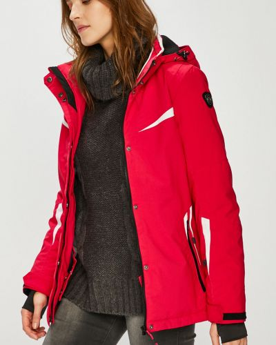Розовая теплая куртка Killtec