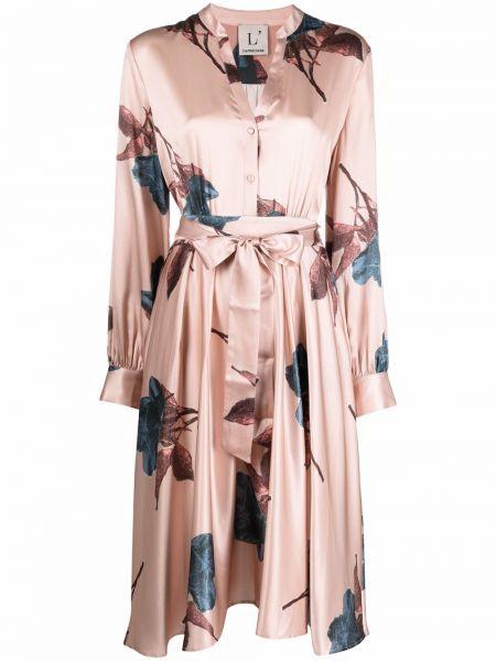 Шелковое платье миди Lautre Chose