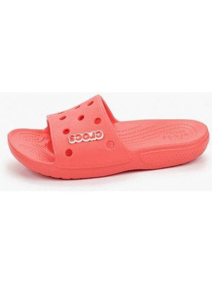 Красные пляжные шлепанцы Crocs