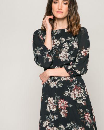 Платье мини с поясом на резинке Answear