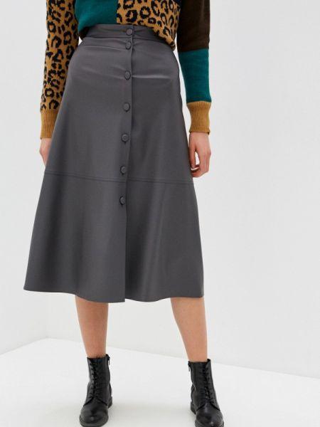 Серая юбка Knitman