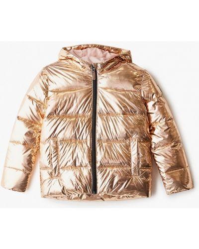 Теплая куртка золотая Roxy