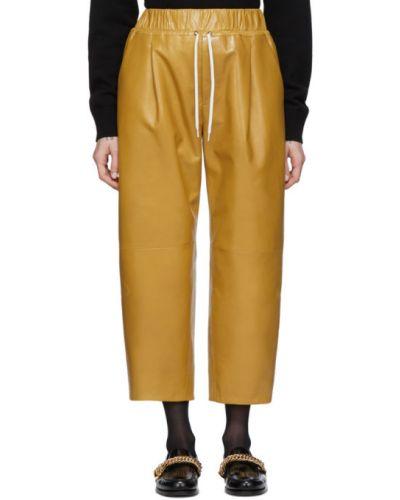 Ze sznurkiem do ściągania biały spodni spodnie z kieszeniami Givenchy