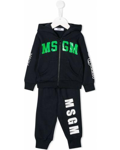 Костюм на молнии с карманами Msgm Kids