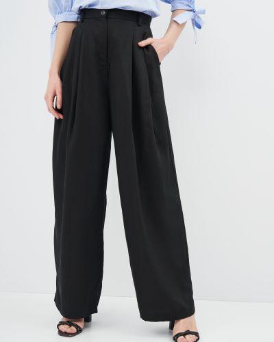 Широкие брюки - черные Weekday
