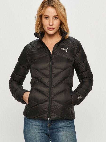 Пуховая стеганая куртка с воротником Puma