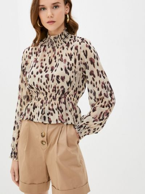 Серая блузка осенняя Zibi London
