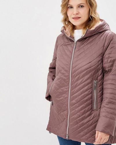 Утепленная куртка - фиолетовая Clasna