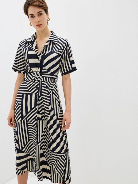 Платье прямое бежевое Selected Femme