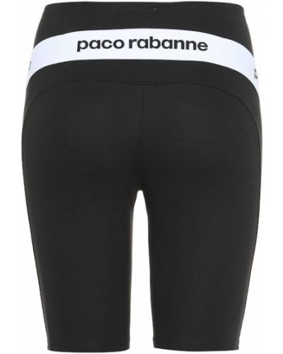 Sport szorty czarny Paco Rabanne