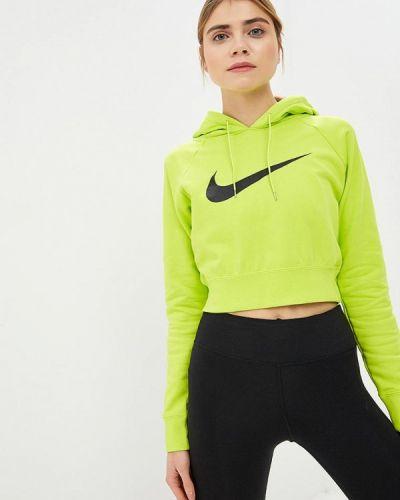 Зеленая толстовка Nike