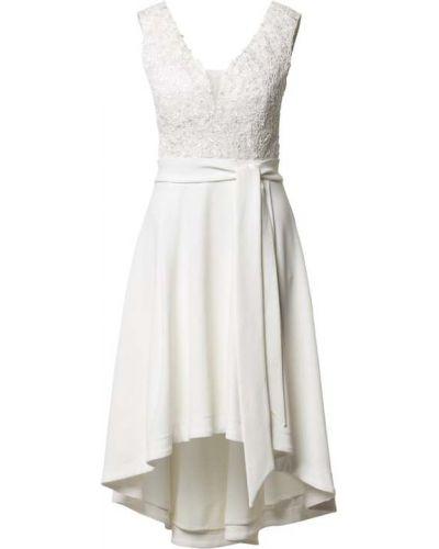 Sukienka koktajlowa - biała Paradi