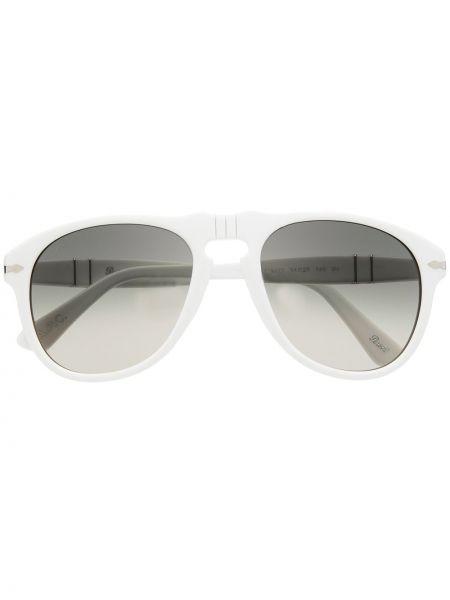 Белые солнцезащитные очки Persol