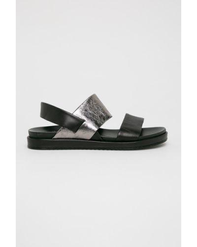 Sandały czarne Badura