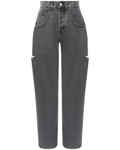 Хлопковые джинсы - серые Forte Dei Marmi Couture