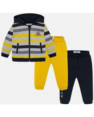 Спортивный костюм желтый с карманами Mayoral