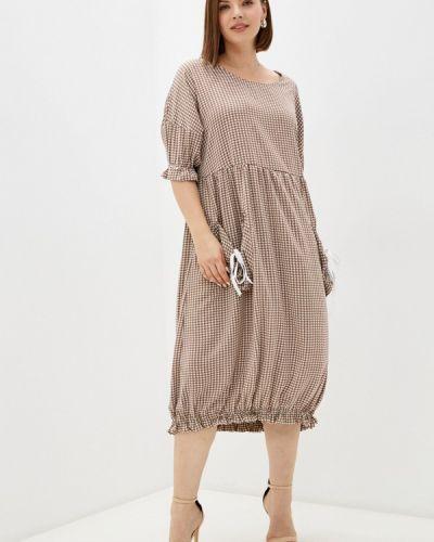 Повседневное платье - коричневое Prewoman