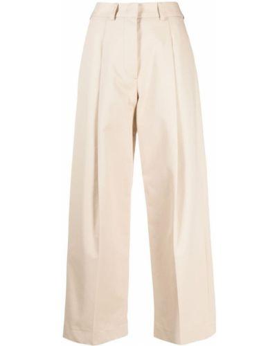 Хлопковые брюки с потайной застежкой Jejia