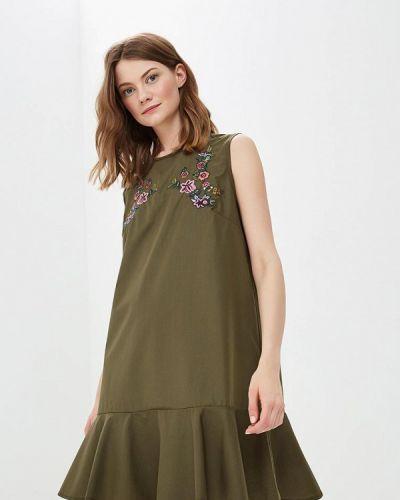 Платье весеннее хаки Sweet Miss