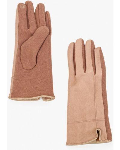 Текстильные перчатки - бежевые Luhta