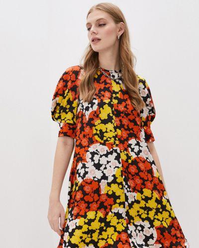 Разноцветное платье Mcq Alexander Mcqueen