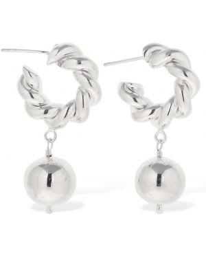 Kolczyki sztyfty srebrne Isabel Lennse