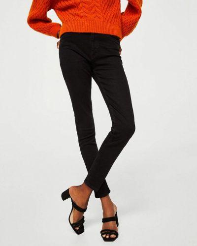 Черные джинсы-скинни Mango