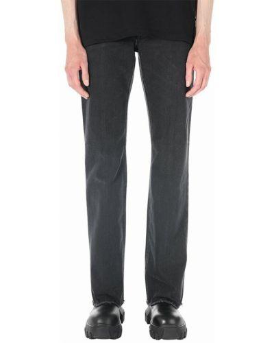 Czarne mom jeans Raf Simons