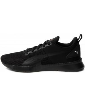 Текстильные тренировочные черные кроссовки беговые для бега Puma