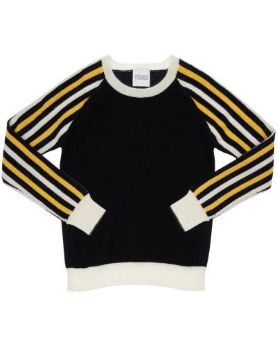 Кашемировая свитер с рукавом реглан с вырезом Madeleine Thompson