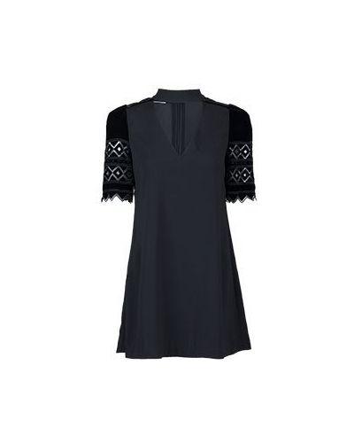 Черное коктейльное платье Pinko