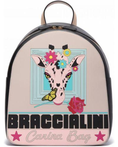 Комбинированный текстильный рюкзак Braccialini