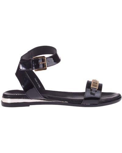 Черные сандалии Love Moschino
