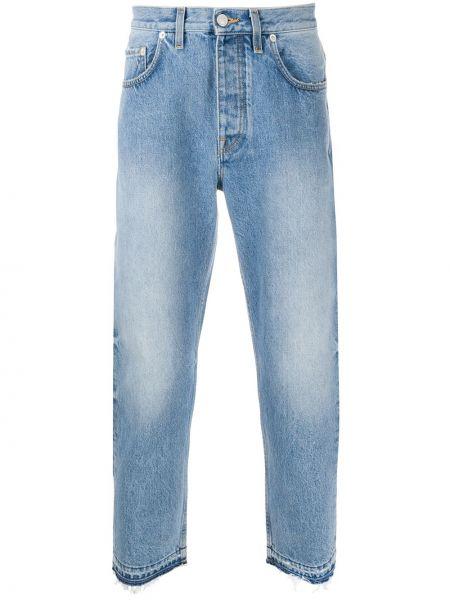 Прямые джинсы с жемчугом с карманами с рукавом 3/4 Harmony Paris