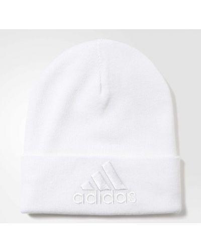 Спортивная шапка - белая Adidas